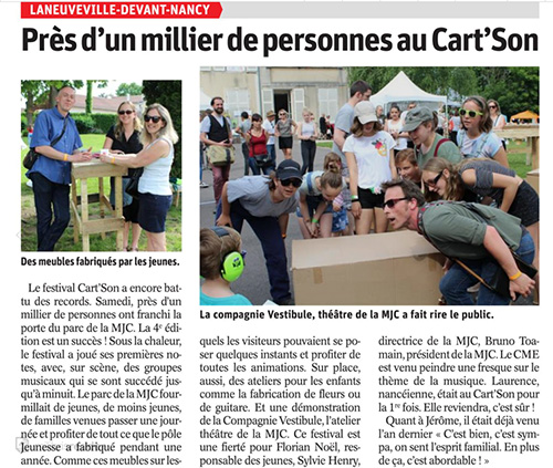 Cart'Son #4 CR du festival