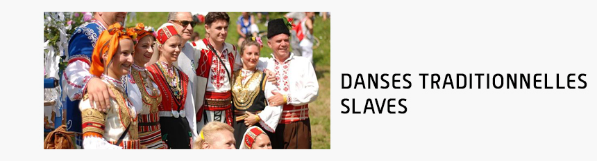 Danses traditionnelles slaves